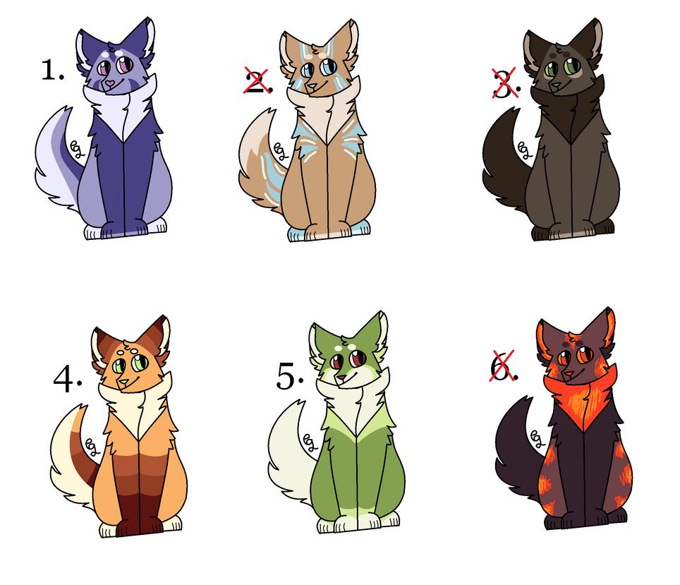 Cat Adoptables #3 (3/6 Open) by missgumley