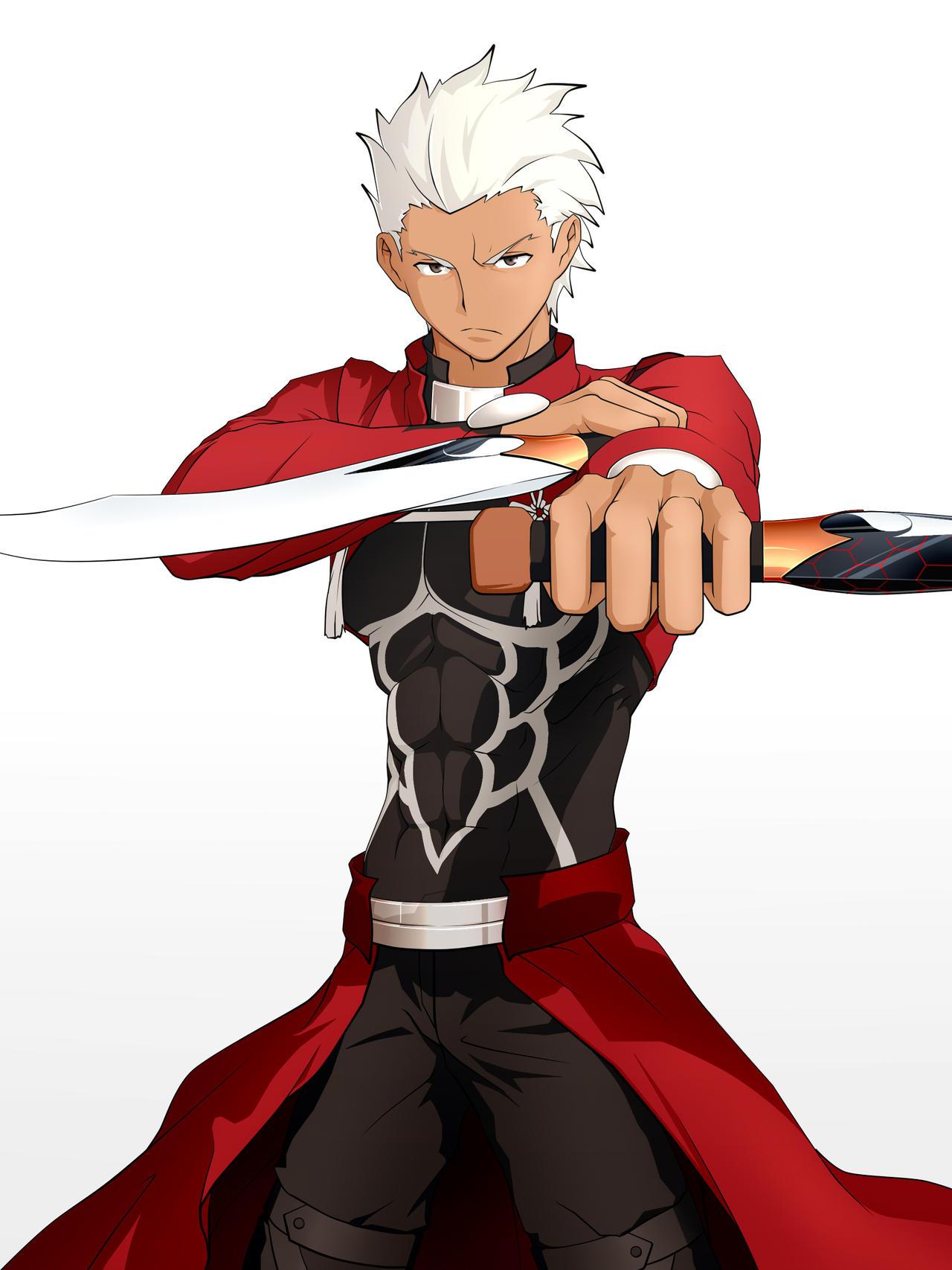 Red Archer Emiya Fate Sn By Skarltano On Deviantart