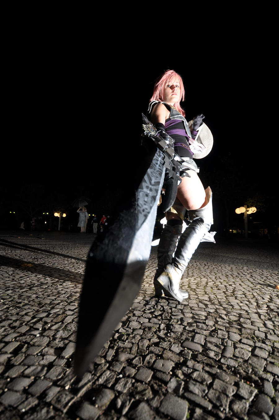 Lightning Cosplay at Animaco 2012 by DYuki