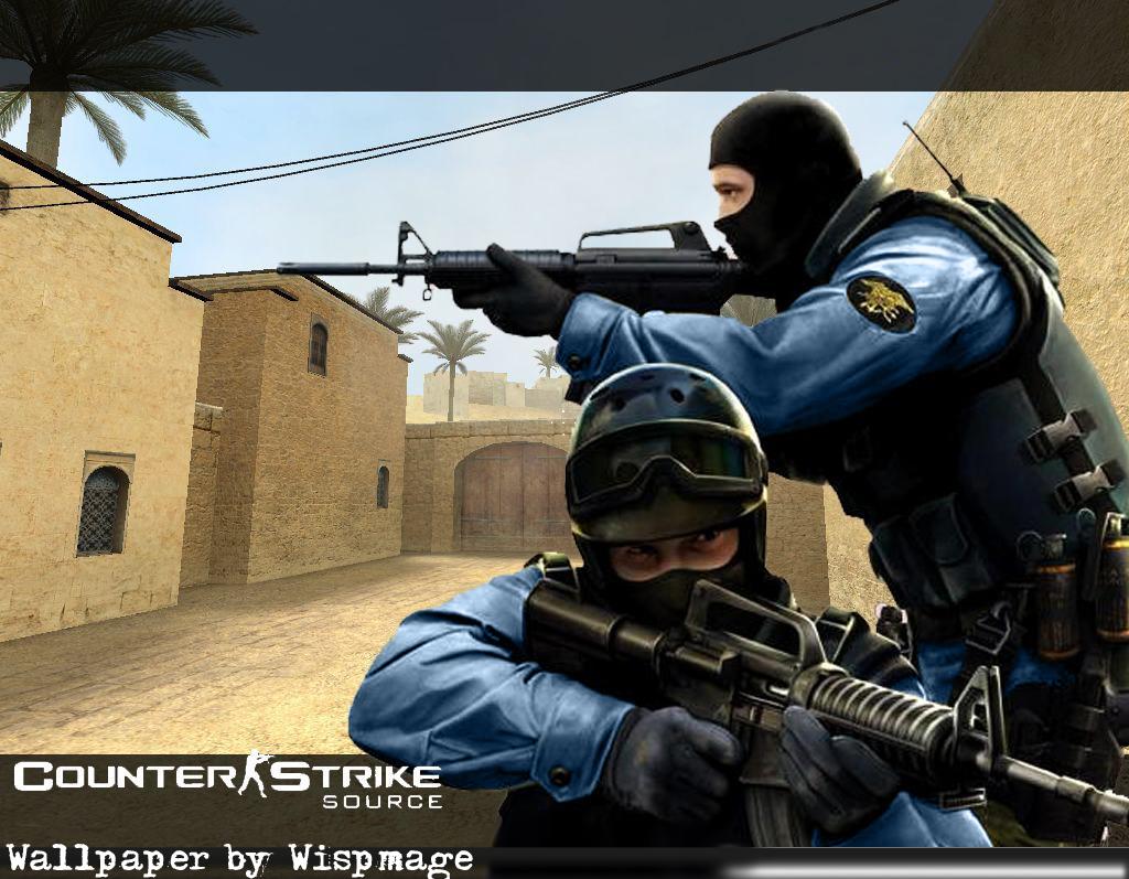 Counter-strike source(соурс) - онлайн игра с превосходным мультиплеером, ставшая легендой среди игр жанра шутер