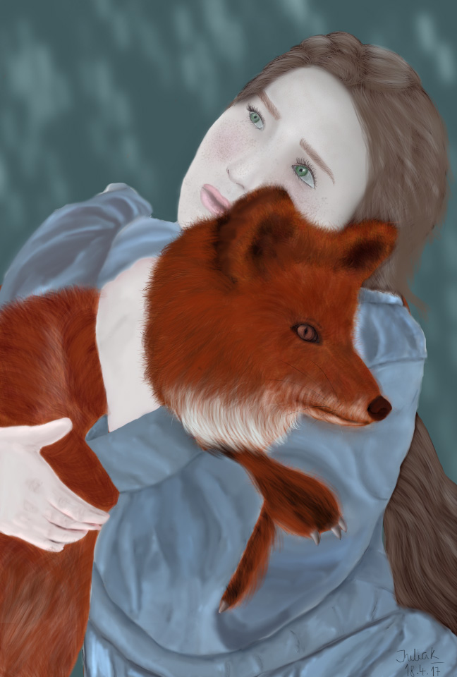 Fantasy fox by NoirNyan