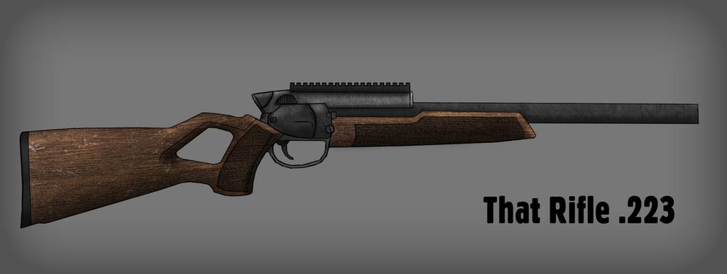 That Rifle .233 (Fallout) by MG-Croft ...