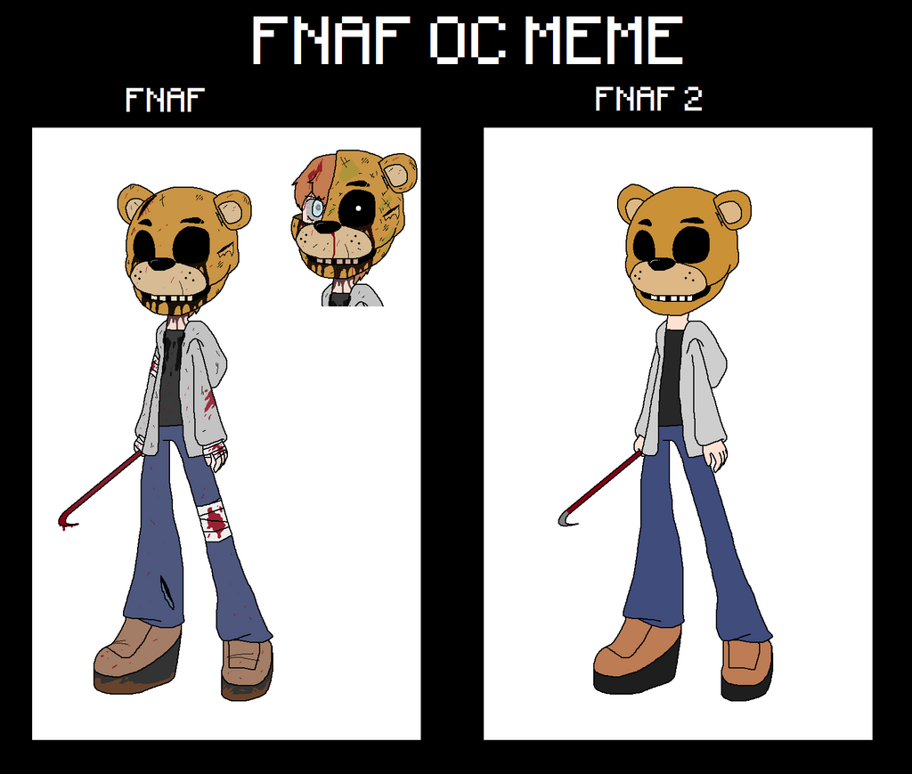 Fnaf oc by fantasygerard2000 on deviantart