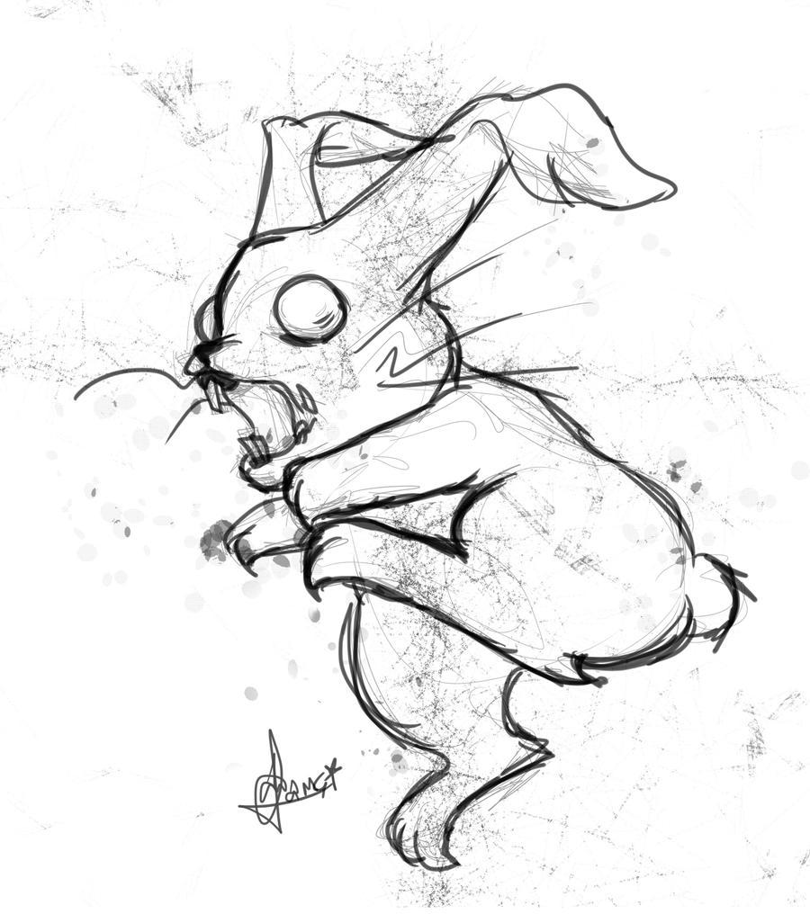 Zombie Bunny [Sketch] ...