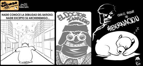 El Batioso y Pepe el perro policia 04 by aMci12