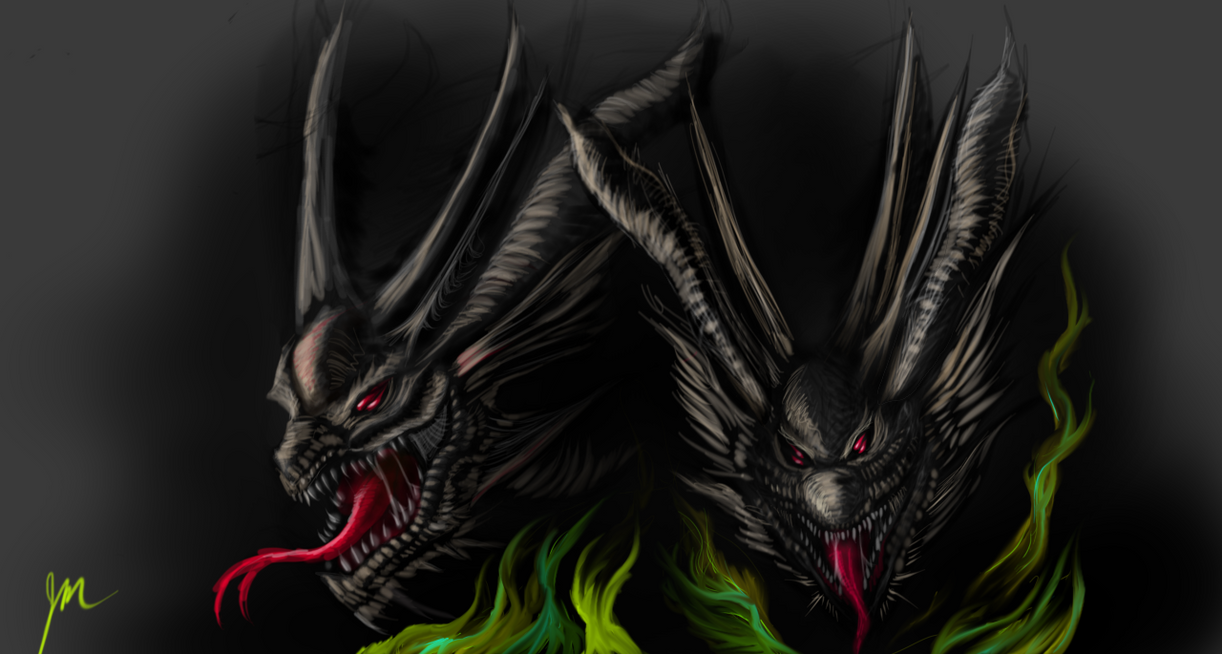 Dragon Sketch by NITEMARE-X