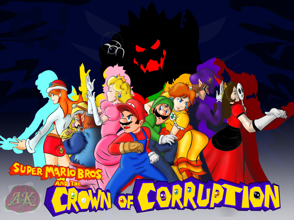 SMB The Crown Of Corruption by cory1234567890