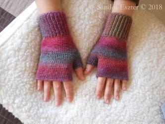 Fingerless gloves by PilgrimMaiden
