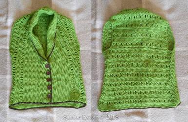 Green waistcoat by PilgrimMaiden