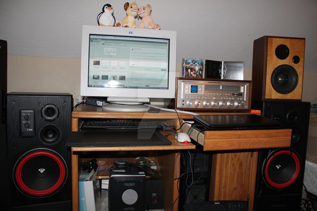 Computer Desk Setup 10 18 12 By Reeseriverson On Deviantart
