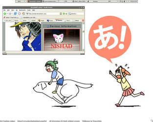 my desktop by nishad