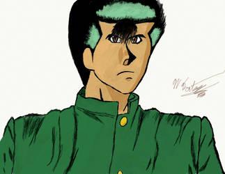 Yusuke : Colored by nishad