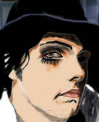 Gerard Way Kerrang Portrait by nishad