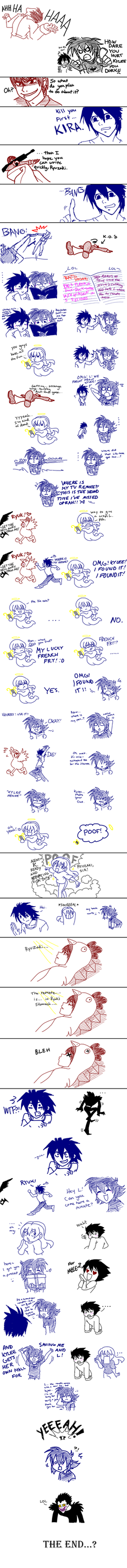 Death Note Shenanigans Pt. 2 by SonicRocksMySocks