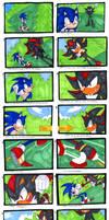 Sonic VS Shadow-Storyboard