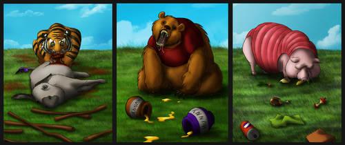 Freaky Pooh Series