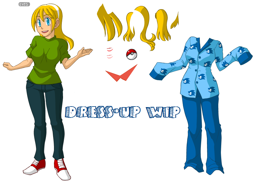 Dress-Up Game WIP: NEED IDEAS By SonicRocksMySocks On