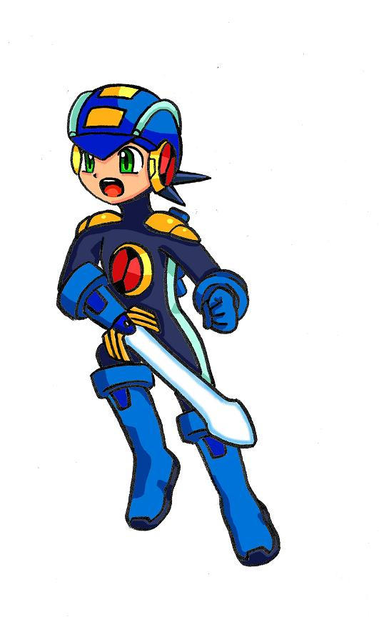 Mega Man EXE by SonicRocksMySocks