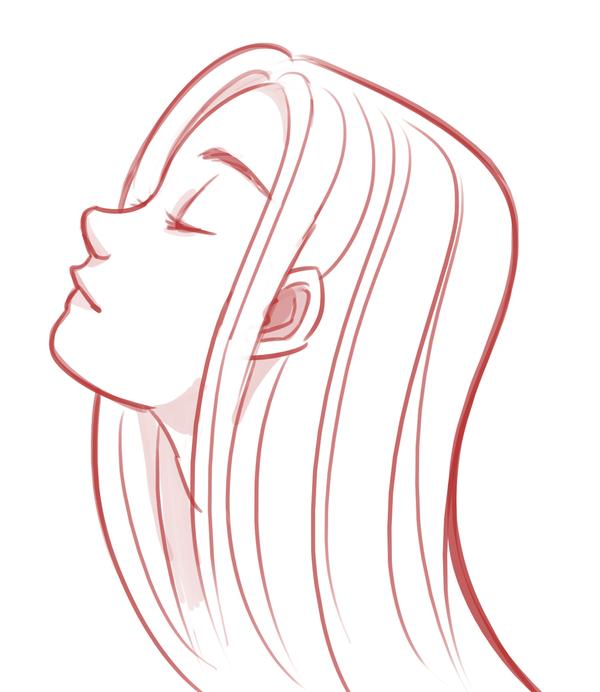 girl profile by sonicrocksmysocks on deviantart