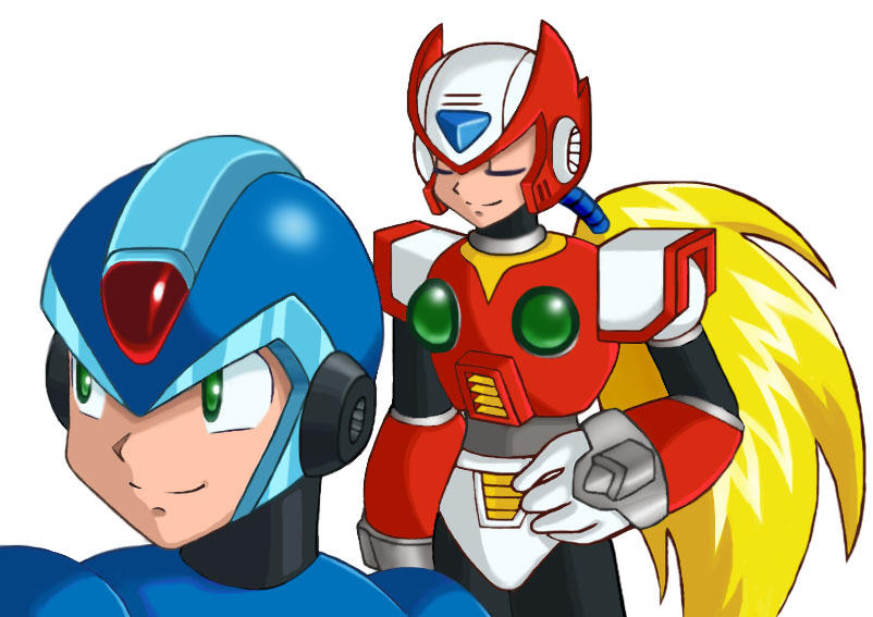 X and Zero by SonicRocksMySocks
