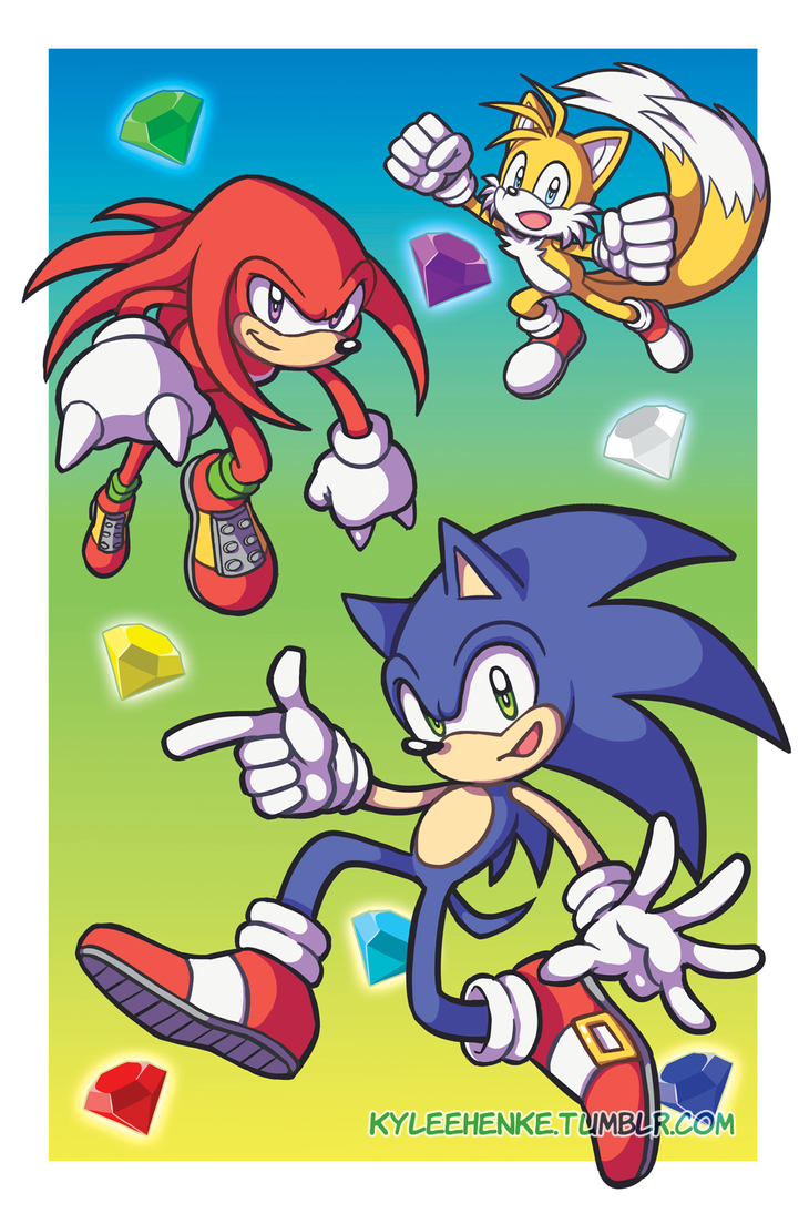 Sonic Poster by SonicRocksMySocks