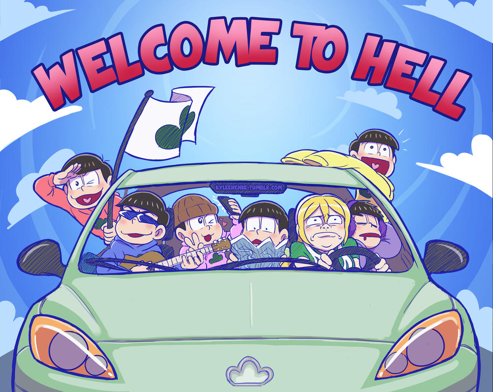 WELCOME TO HELL by SonicRocksMySocks