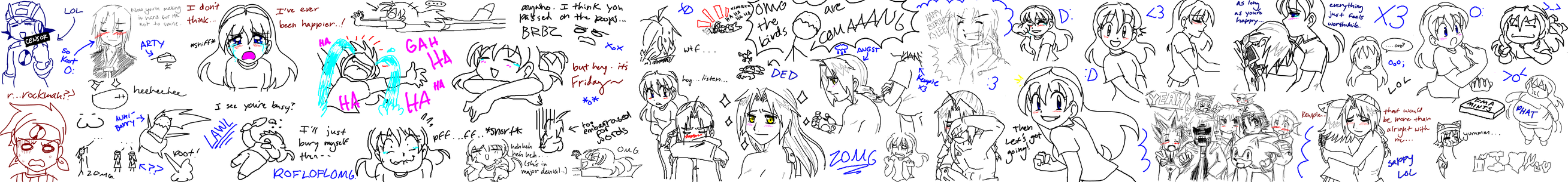 MSN Chat Doodles by SonicRocksMySocks