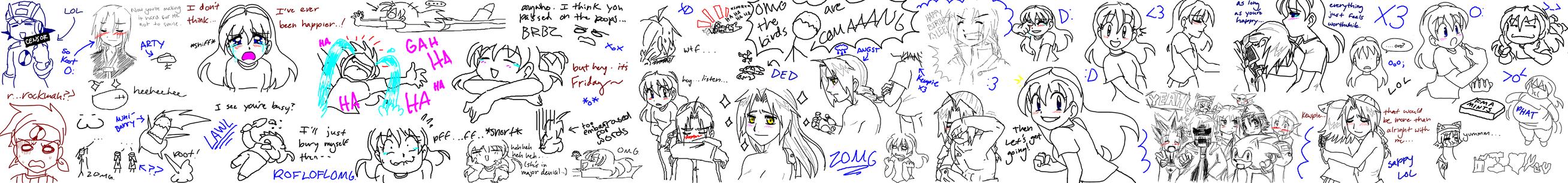 MSN Chat Doodles by SonicRocksMySocks