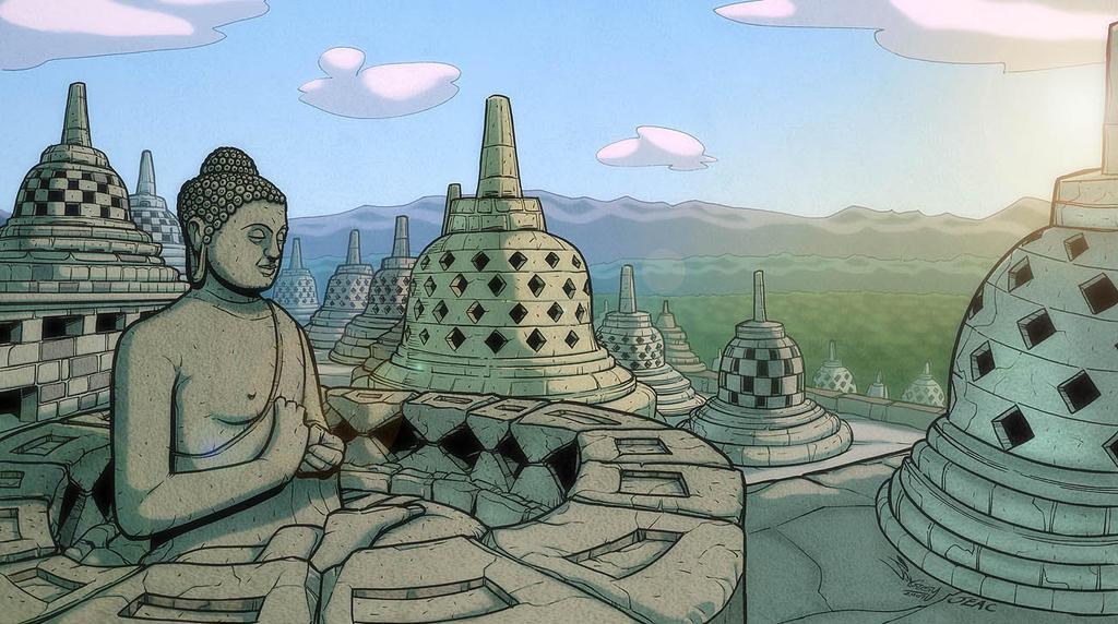 Borobudur by JoniGodoy