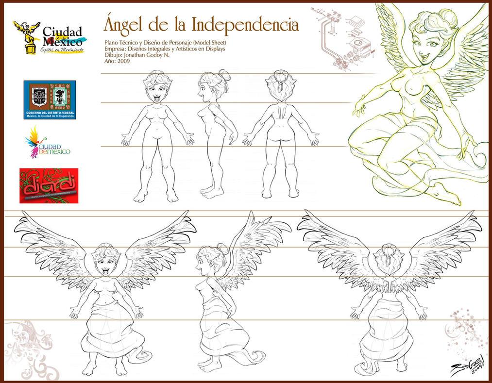 Angela en Planos by JoniGodoy