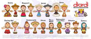 Vector Kids Viva Mexico by JoniGodoy