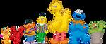 Sesame Street Vector Characters by JoniGodoy