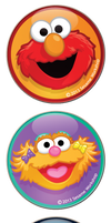 Sesame Street Vector Icons by JoniGodoy