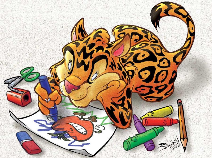 Caricatura jaguar - Imagui