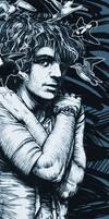 Pink Floyd's Syd Barret by JoniGodoy