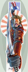 American Samurai by JoniGodoy