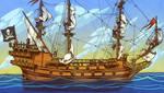 Pirate Ship by JoniGodoy