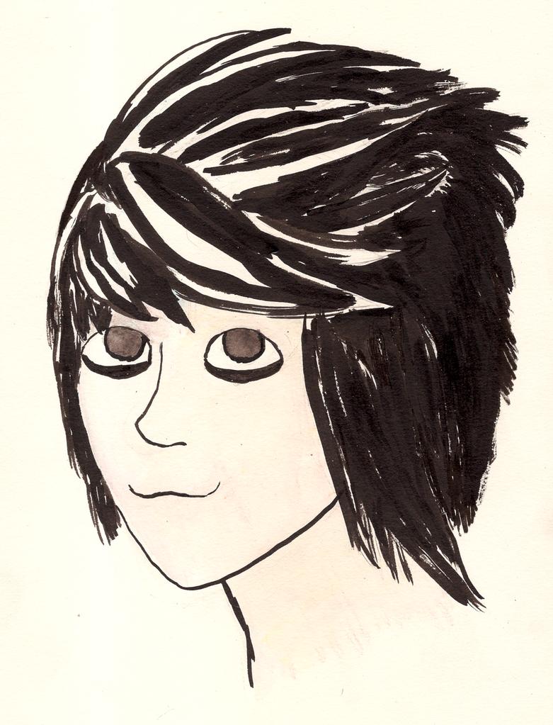 Headshot of L by RandomKooldude