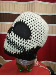 Custom Crochet Skull Ski Mask