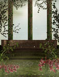 Enchanted Balcony background