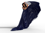 Blue Cloth 2