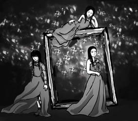 Kalafina Best Album cover parody