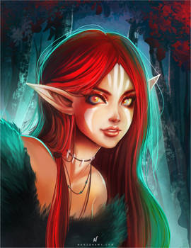 Red Druid