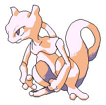 Mewtwo - from RB sprite