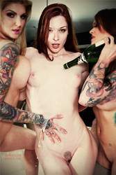 Amina and Amber welcome Stoya to Vegas by tmronin