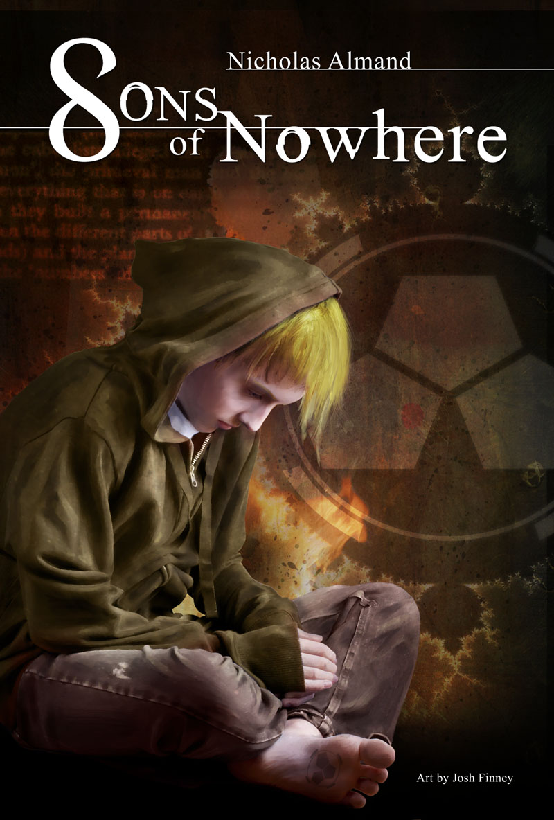 [Sons of Nowhere] Novel Cover by NickAlmand