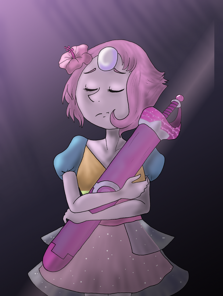 "`Pearl from ""A Single Pale Rose."" I really adore her."