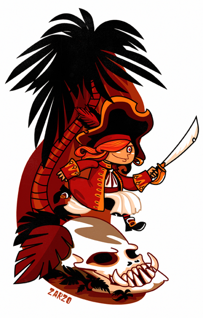 Piratilla by zarzo