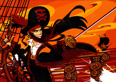 Pirateando by zarzo