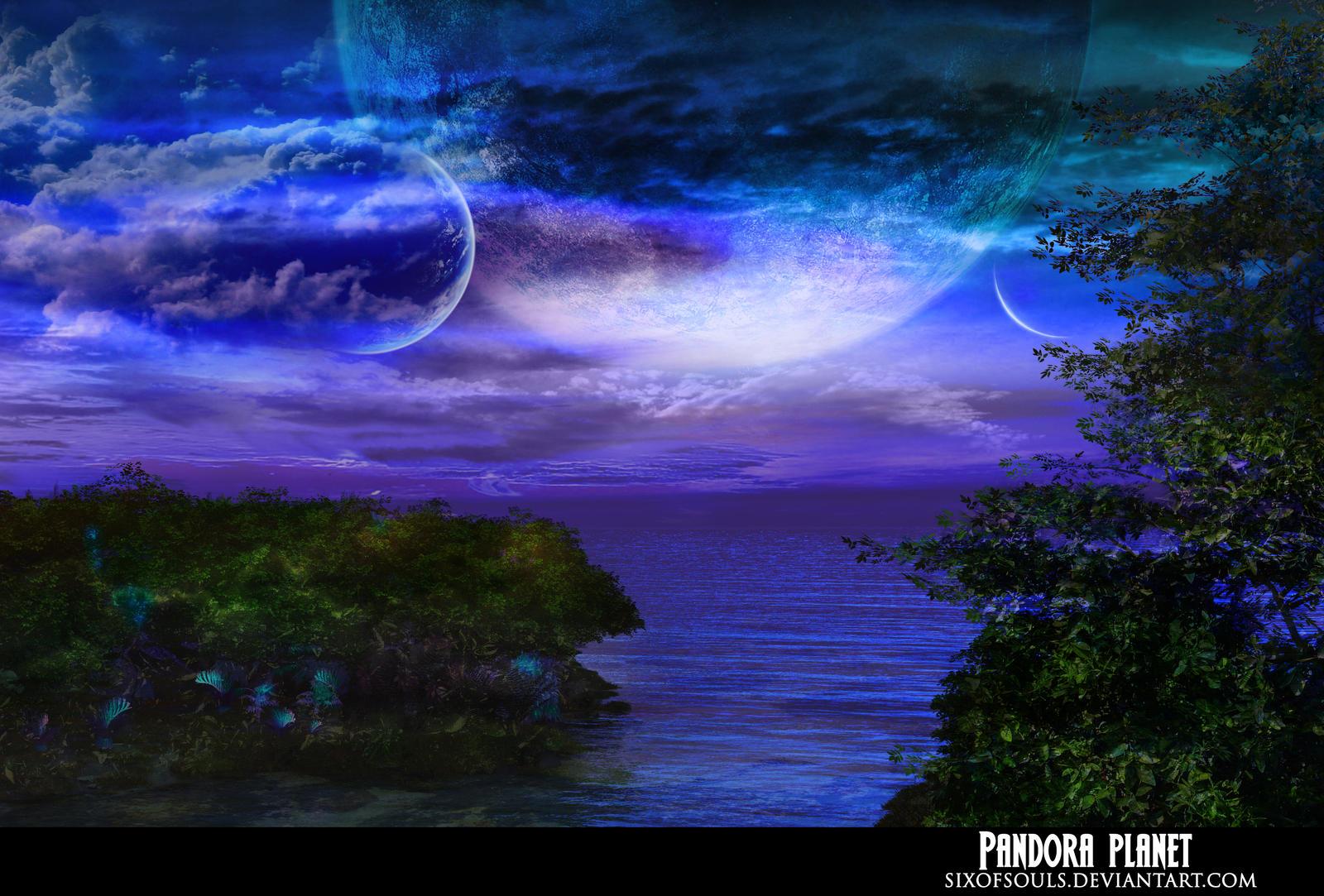 Morning on Pandora by sixofsouls on DeviantArt